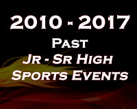 Past HS/JH/GS Sporting Events 2015-2010